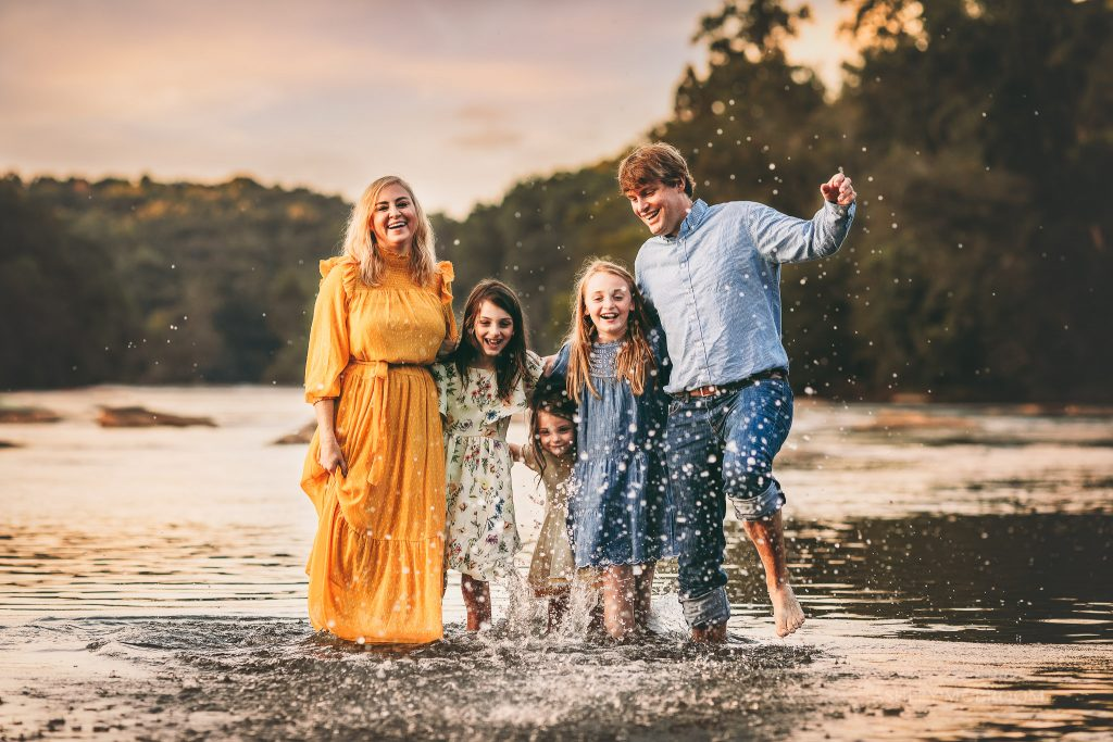 creative atlanta family photographer