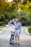 older couple happy in love
