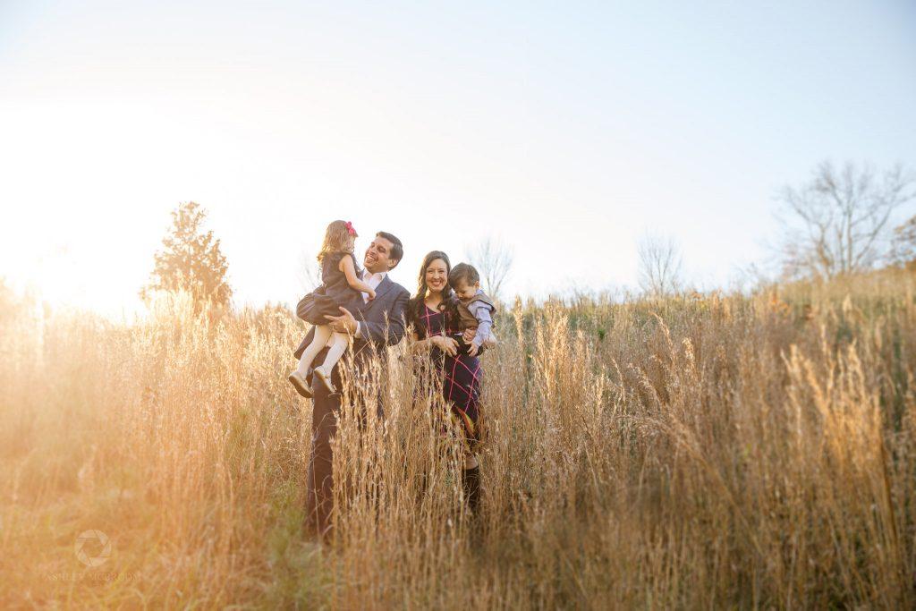 Leita Thompson Park roswell family photo