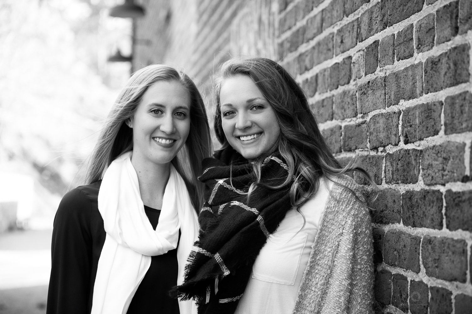 Sisters at the Roswell Mill