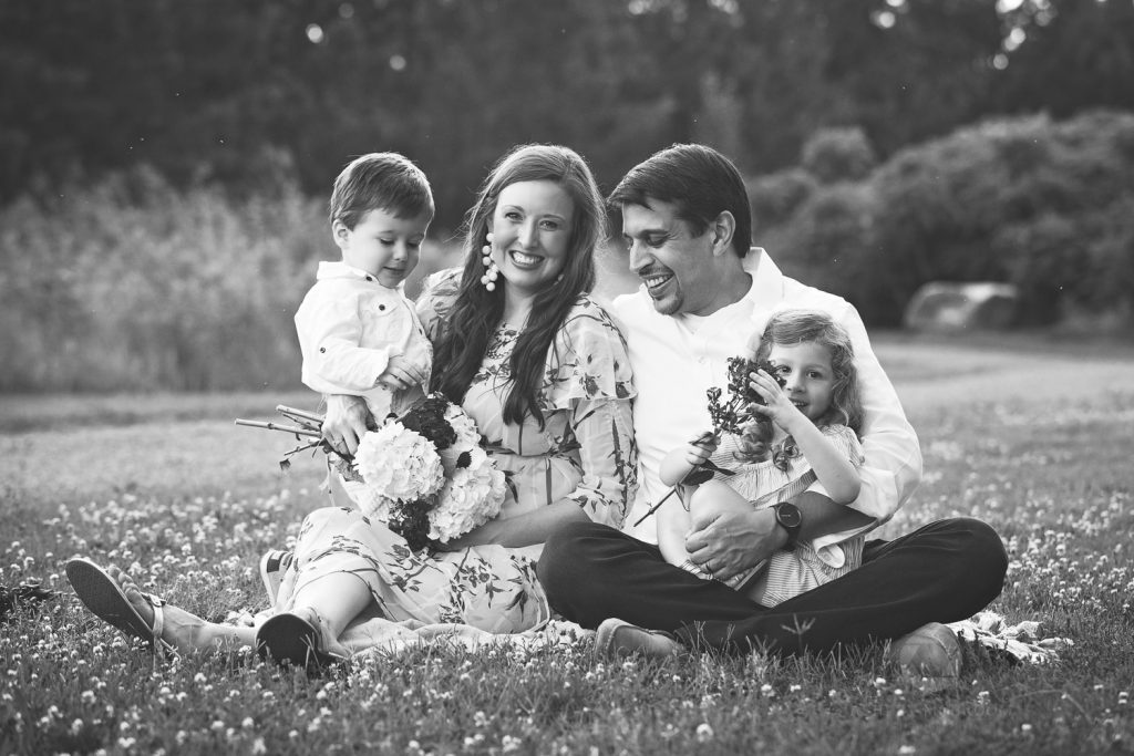 atlanta family photographer group of four