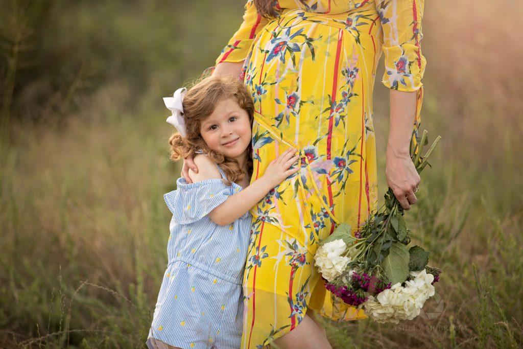 Atlanta Maternity photographer mom and little girl