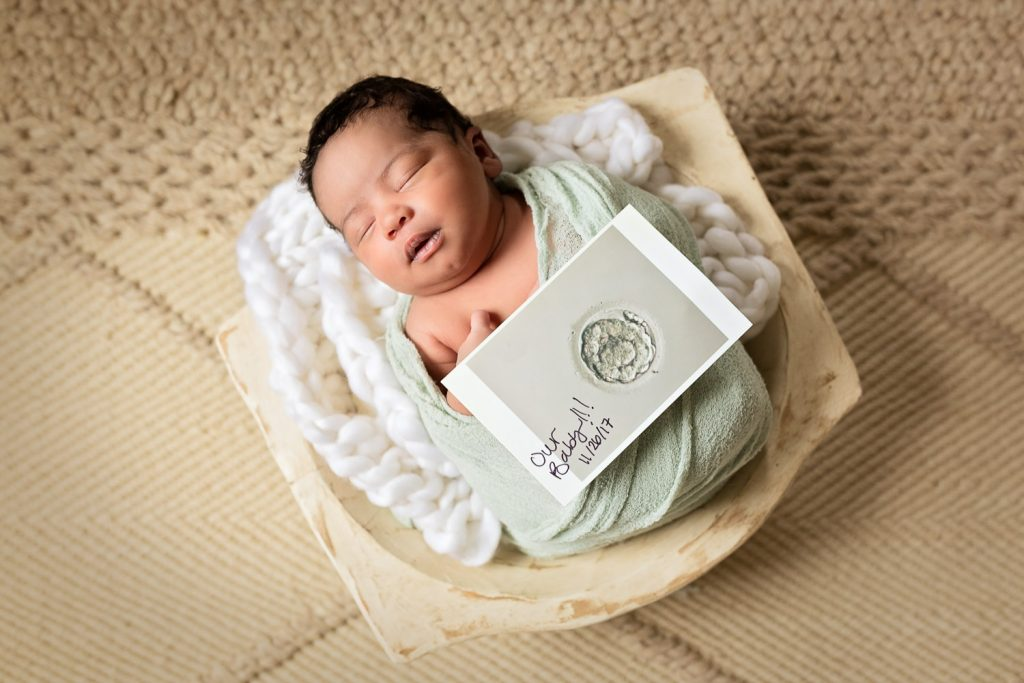 Marietta newborn photographer baby in bowl