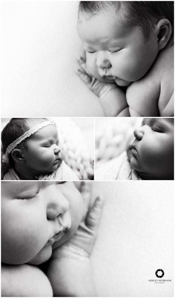 east cobb newborn photographer baby cheeks