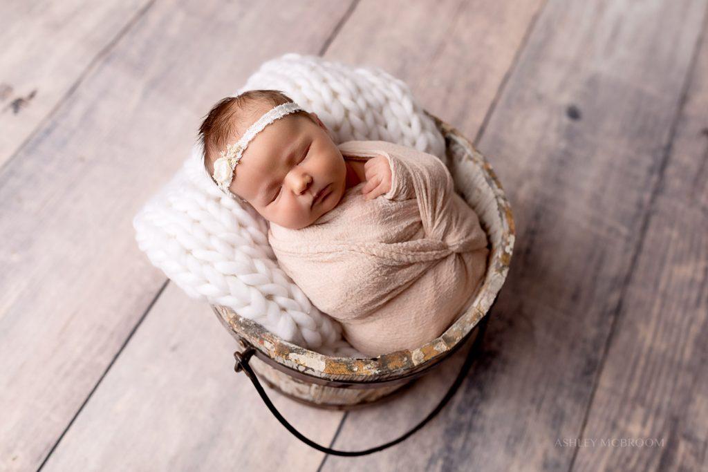 newborn photo session in east cobb georgia