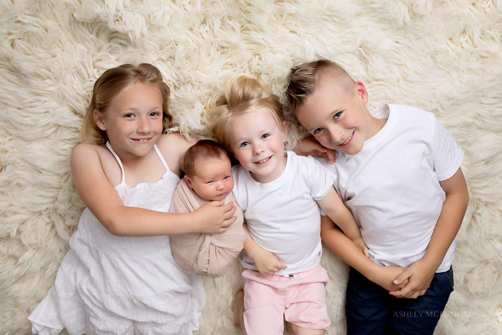 east cobb family photographer newborn session