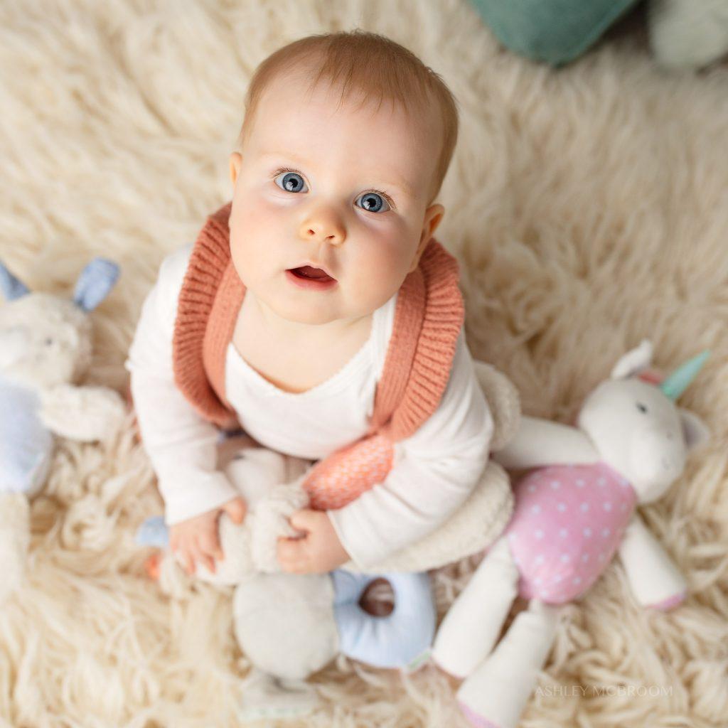 atlanta commercial photographer baby shoot
