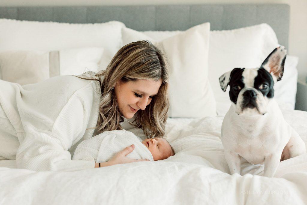 best atlanta home park newborn photographer