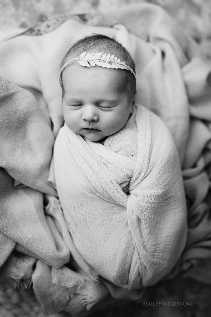 Marietta in-home newborn photography